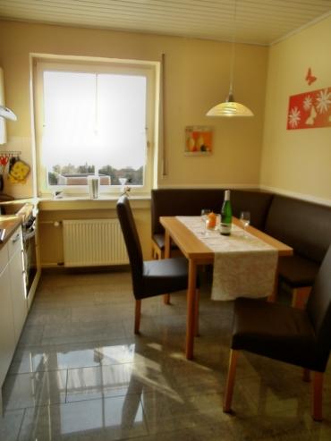 Küche mit Eckbank